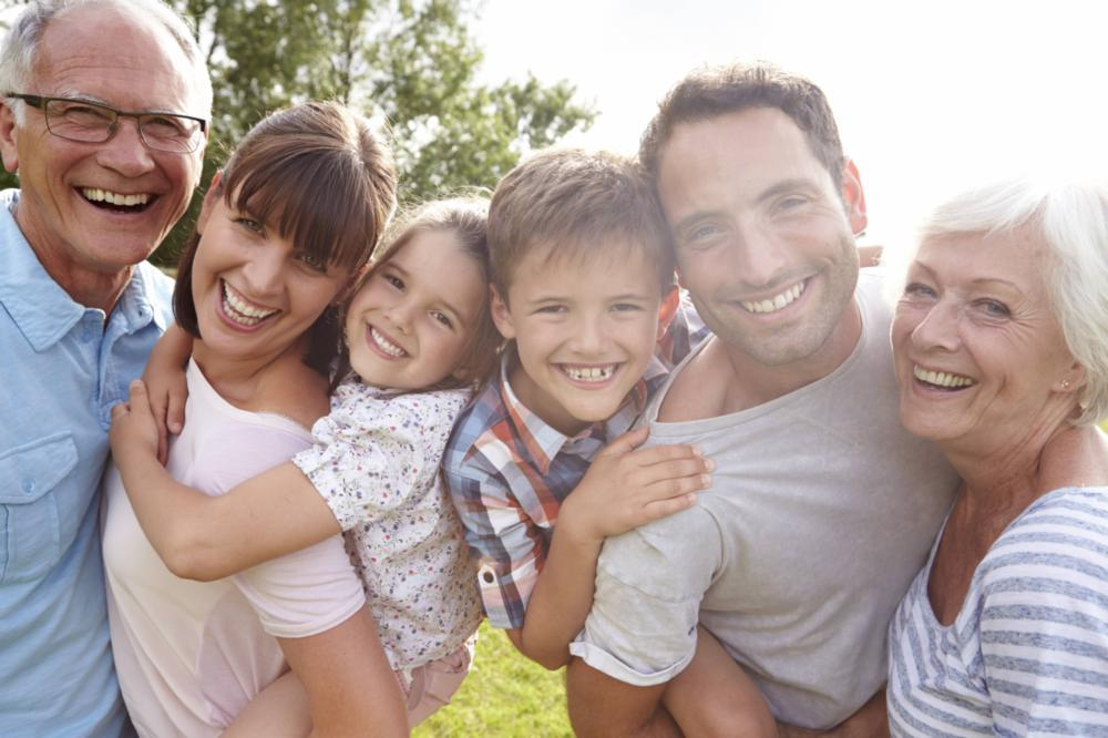 Smiling Family | Dentistry in Fairfax, VA